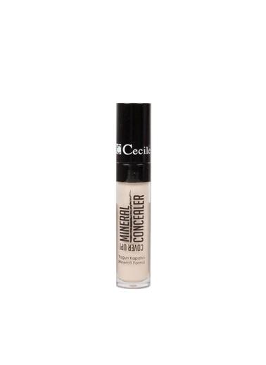 Cecile Cover Up Mineral Formüllü Yoğun Kapatıcı 02 Renksiz